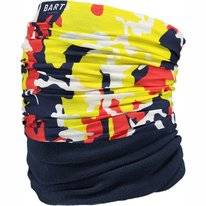 Neck Warmer Barts Unisex Multicol Polar Camo Yellow