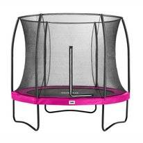 Trampoline Salta Comfort Edition Roze 251 + Safety Net