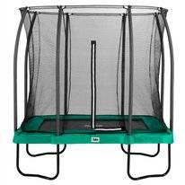 Trampoline Salta Comfort Edition Rectangular Groen 153 x 214 cm + Safety Net