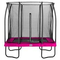 Trampoline Salta Comfort Edition Rectangular Roze 153 x 214 cm + Safety Net