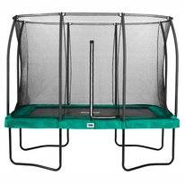 Trampoline Salta Comfort Edition Rectangular Groen 214 x 305 cm + Safety Net