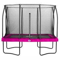 Trampoline Salta Comfort Edition Rectangular Pink 214 x 305 cm + Safety Net