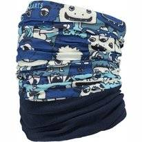 Neck Warmer Barts Unisex Multicol Polar Monsters Blue