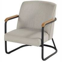 Loungestoel Hartman Studio 54 Lounge Chair Carbon Black Grey