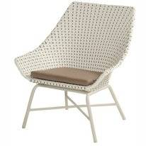 Loungestoel Hartman Delphine Lounge Chair Royal White Moccacino