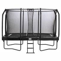 Trampoline Salta First Class Rectangular Zwart 214 x 366 cm + Safety Net