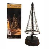 Kerstboom Christmas United Santa's Tree M 60LED Silver