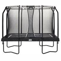 Trampoline Salta Premium Black Edition Rectangular Zwart 214 x 305 cm + Safety Net