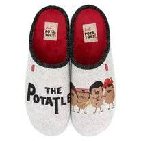 Pantoffel Hot Potatoes Men 56839 Gris