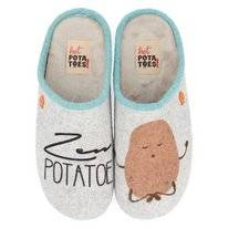 Pantoffel Hot Potatoes Women 57008 Gris