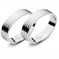 Napkin Rings Georg Jensen Bernadotte Stainless Steel Shine (2 pc)