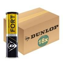 Tennisball Dunlop Fort Elite 4-Tin (Dose 18x4) 2019