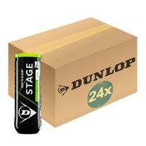 Tennisbal Dunlop Stage 1 Green 3-Tin (Doos 24x3) 2019