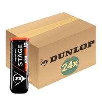 Tennisbal Dunlop Stage 2 Orange 3-Tin (Doos 24x3) 2019