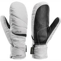 Wanten Leki Apic GTX Lady Mitt White Black