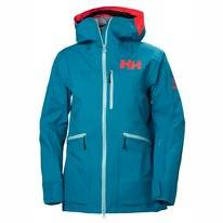 Ski Jas Helly Hansen Women Kvitegga Shell Jacket Blue Wave