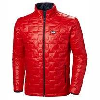 Jas Helly Hansen Men Lifaloft Insulator Jacket Alert Red