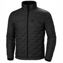 Jas Helly Hansen Men Lifaloft Insulator Jacket Black Matte