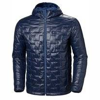 Jas Helly Hansen Men Lifaloft Hooded Insulator Jacket Navy