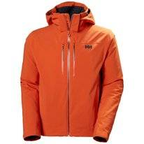 Ski Jas Helly Hansen Men Alpha Lifaloft Jacket Patrol Orange