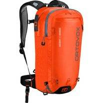 Skirucksack Ortovox Ascent 22 Avabag Crazy Orange Rot (Inklusive Airbag)