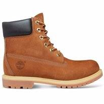 "Timberland 6"" Premium Boot Womens Rust Waterbuck"