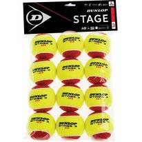 Tennisball Dunlop Stage 3 Red (12 Polybag) 2019