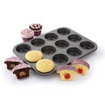 Cupcake Baking Tin Chicago Metallic Surprise