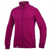 Vest Woolpower Full Zip Jacket 400 Cerise Purple