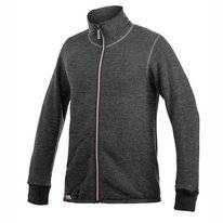 Vest Woolpower Full Zip Jacket 400 Grey Rose