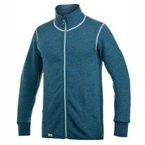 Vest Woolpower Full Zip Jacket 400 Petrol Champ