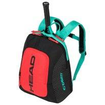 Tennisrugzak HEAD Kids Backpack Gravity Black Teal 2019