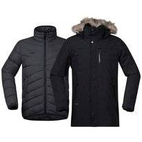 Jas Bergans Men Sagene 3in1 Black