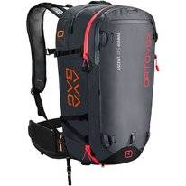 Skirucksack Ortovox Ascent 38 S Avabag Black Anthracite (Inklusive Airbag)