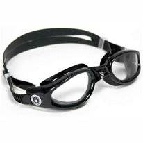 Zwembril Aqua Sphere Kaiman Small Clear Lens Black