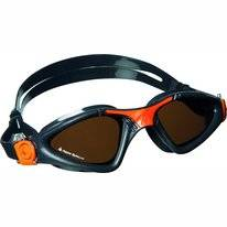 Zwembril Aqua Sphere Kayenne Polarized Lens Grey Orange