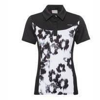 Poloshirt HEAD Performance Black White Damen