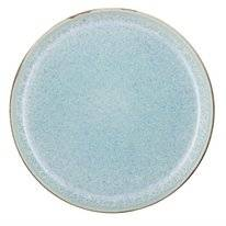 Dinerbord Bitz Grey Light Blue 21 cm