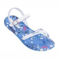 Slipper Ipanema Kids Fashion Sandal Blue White