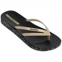 Slipper Ipanema Women Bossa Soft Gold Black