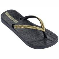 Slipper Ipanema Kids Mesh Black Gold