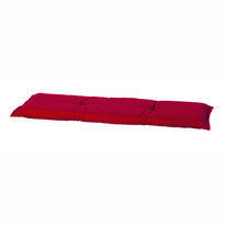 Bankkussen Madison Rib Red Tweezits
