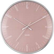 Clock Karlsson Dragonfly Dusty Pink Dome Glass
