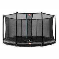 Trampoline BERG InGround Favorit Grey 380 + Safety Net Comfort