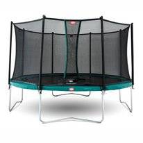 Trampoline BERG Elite Red 430 + Safety Net Deluxe