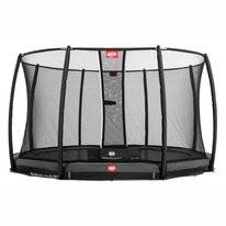 Trampoline BERG InGround Champion Grey 430 + Safety Net Deluxe