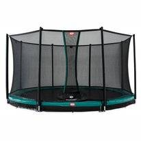 Trampoline BERG InGround Champion Green 430 + Safety Net Comfort