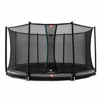 Trampoline BERG InGround Champion Grey 380 + Safety Net Comfort