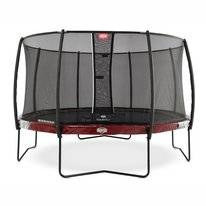 Trampoline BERG Elite Red 380 + Safety Net Deluxe