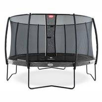 Trampoline BERG Elite Grey 380 + Safety Net Deluxe